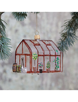 Greenhouse Glass Ornament by Terrain