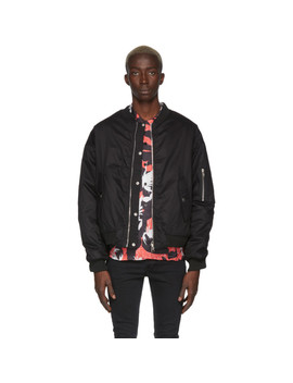 Reversible Black Love Will Save Us Bomber Jacket by Stolen Girlfriends Club