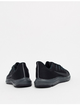 Nike Running Quest Trainers In Triple Black by Nike