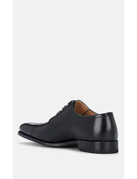 Stitched Cap Toe Leather Bluchers by Harris