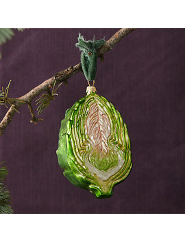 Artichoke Glass Ornament by Terrain