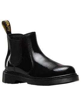 Dr Martens Banzai Chelsea Boots, Black Patent by Dr Martens
