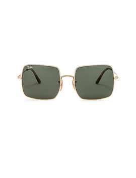 Square Evolve In Green & Gold by Ray Ban