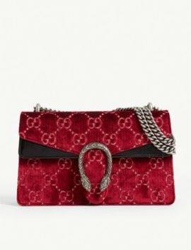 Dionysus Velvet Shoulder Bag by Gucci