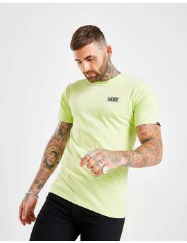 Vans Box Logo T Shirt by Jd Sports