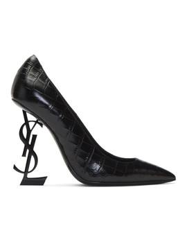 Black Opyum 110 Heels by Saint Laurent