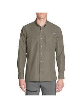 Eddie Bauer Men's Long Sleeve Guide Shirt by Eddie Bauer