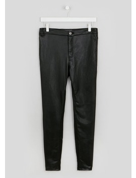 Pu Coated Skinny Trousers by Matalan