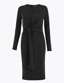Petite Jersey Bodycon Midi Dress by Marks & Spencer