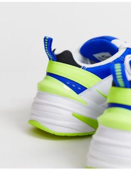 Кроссовки с синей и белой отделкой Nike M2 K Tekno by Nike
