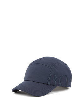 Logo Cap In Micro Structured Stretch Fabric by Boss