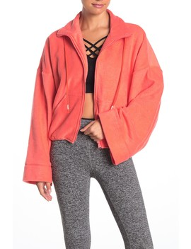 Climb High Fleece Crop Jacket by Free People Movement