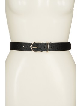 Fine Belt by Linea Pelle