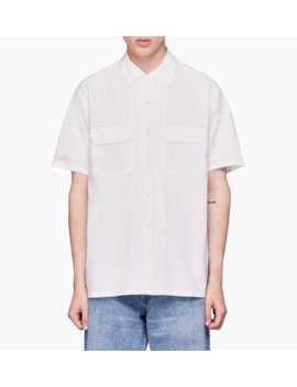 Short Sleeve Open Collar by Beams Plus