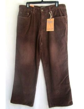 U.S. Expedition..Brown..Corduroy..Jeans / Pants.. 34 X 30..Nwt by U.S. Expedition