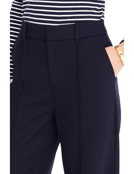 Flannel Stretch Wool Pants by J.Crew