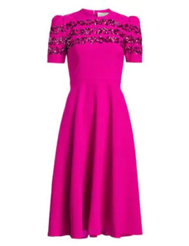 Brigitte Embellished Puff Shoulder Dress by Ahluwalia