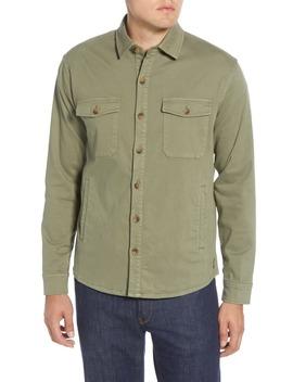 Moleskin Shirt Jacket by Peter Millar