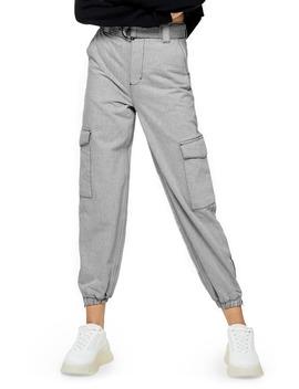 Judo Cargo Jogger Pants by Topshop
