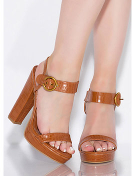 In Cold Blood Chunky Reptile Platforms by Go Jane