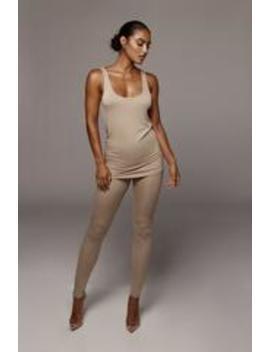 Tan Tasha Leggings by Jluxlabel