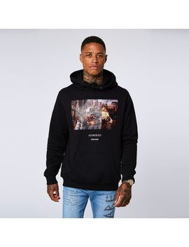 Historic Box Image Hoodie   Black by Legend London