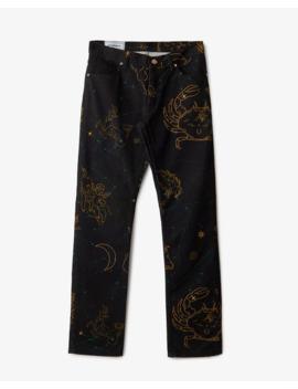 Constellation Jeans Printed Denim by Casablanca