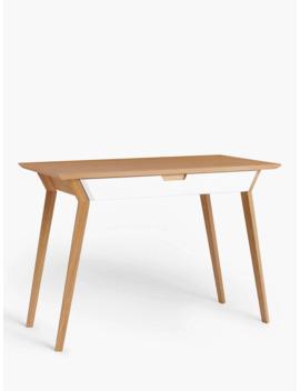 John Lewis & Partners Acutec Desk, Natural by John Lewis & Partners