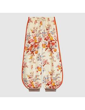 Bi Material Track Bottoms by Gucci