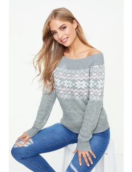 Fashion Union Fair Isle Jumper by Next