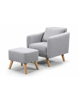 Vivienne Armchair And Footstool by Norden Home