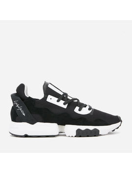 Y 3 Men's Zx Torsion Trainers   Black Y3/Ftwr White by Y 3