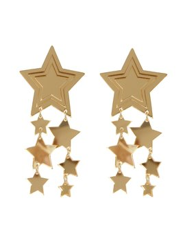 Star Drizzle Earrings  Gold by Melogy Ehsani