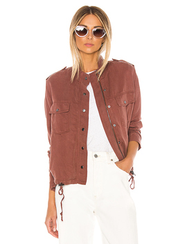 Collins Jacket In Burgundy by Rails