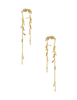 Willow Earrings In Gold by Gorjana