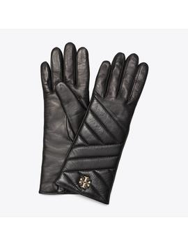 Kira Chevron Glove by Tory Burch