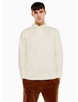 White Plain Rugby Shirt by Topman