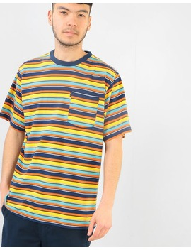 The Hundreds Varden T Shirt   Navy by Route One