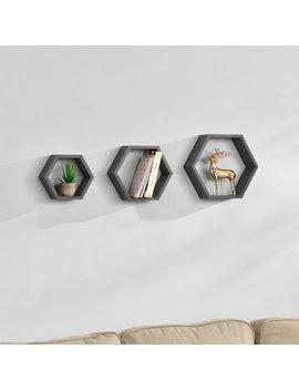 Damaris 3 Piece Floating Shelf Set by Norden Home