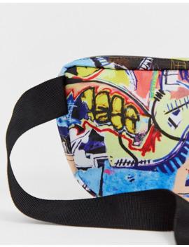 Сумка кошелек на пояс объемом 3 литра со сплошным принтом Herschel Supply Co X Basquiat Nineteen by Herschel Supply Co