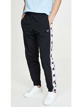Тренировочные брюки Taped с логотипом by двусторонняя ткань Champion Premium