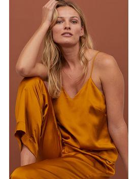 Pyjamasset I Satin by H&M