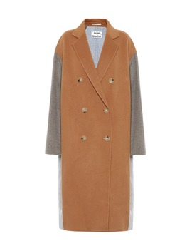 Wool Double Breasted Coat by Acne Studios