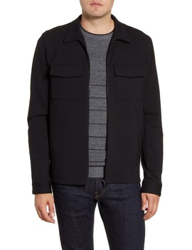Transcend Everett Knit Shirt Jacket by Paige