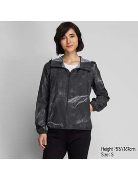 Pocketable Uv Cut Printed Parka by Uniqlo