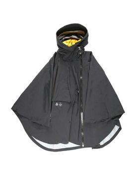 Nike Women's Nikelab Acg Gore Tex 3 In 1 Size Xs Poncho Black Yellow Ar4542 010 by Gore