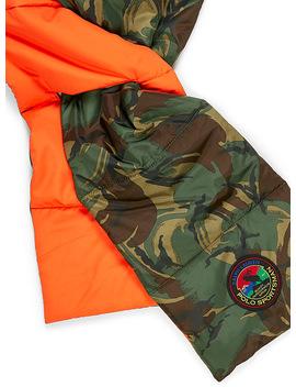 L'écharpe Matelassée Camouflage by Polo Ralph Lauren