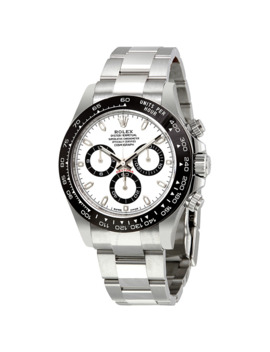 Cosmograph Daytona White Dial Stainless Steel Oyster Men's Watch 116500 Wso by Rolex