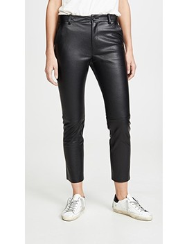 Montauk Leather Pants by Nili Lotan