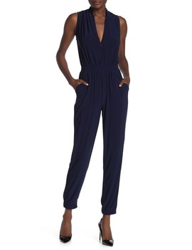 Athleisure Jersey Jumpsuit by Laundry By Shelli Segal